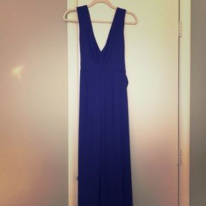 BCBGMaxAzria Navy formal/prom gown size 6